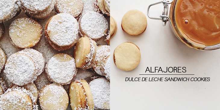 alfajores cookie