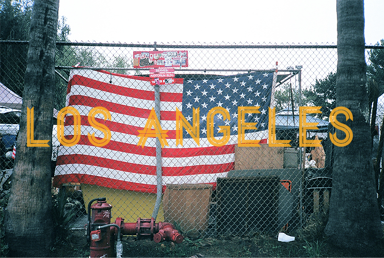 LA US flag