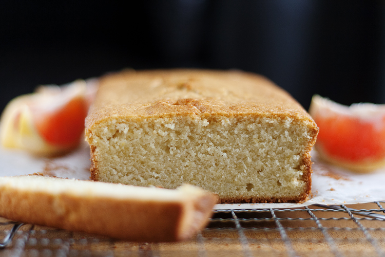 Grapefruit Brown Butter Pound Cake 2