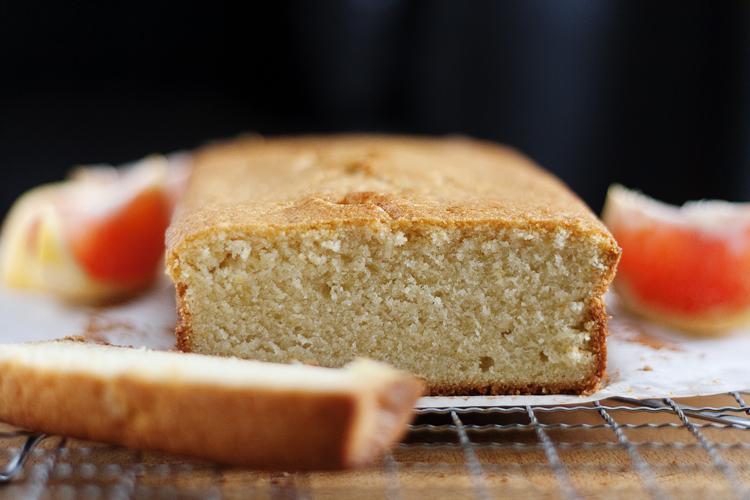 Grapefruit Brown Butter Pound Cake 2