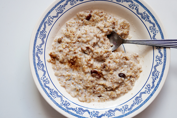 Toasted Steel Cut Oatmeal2